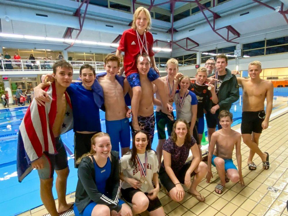 zwemmers New Wave Almere tijdens NZC 2