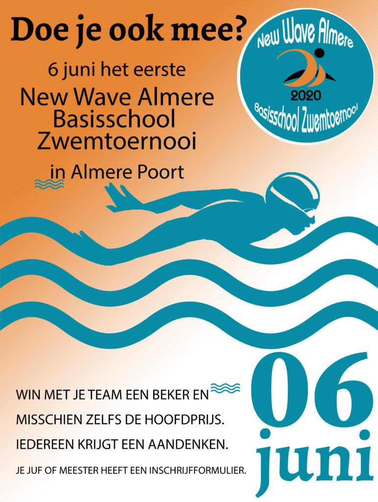 Kom ook naar het 1ste scholierentoernooi in Almere